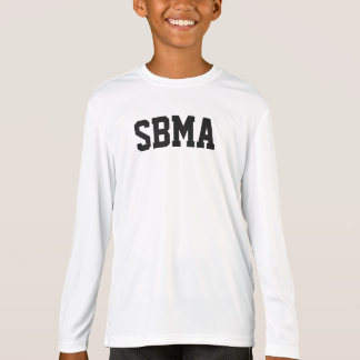 T-shirt Chemise de représentation de long-douille des