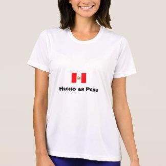 T-shirt Chemise de représentation d'en Pérou de Hecho