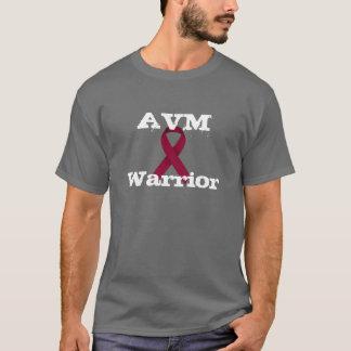 T-shirt Chemise de ruban de Bourgogne de guerrier d'AVM