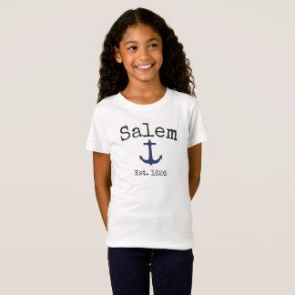 T-Shirt Chemise de Salem le Massachusetts pour la fille