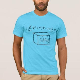 T-shirt Chemise de Schrodinger des hommes
