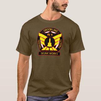 T-shirt Chemise de sécurité de travaux de mouffette du