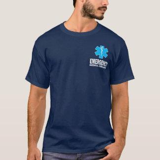 T-shirt Chemise de services médicaux de secours de SME
