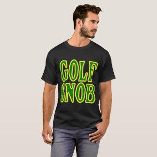 T-shirt Chemise de snob du golf des hommes