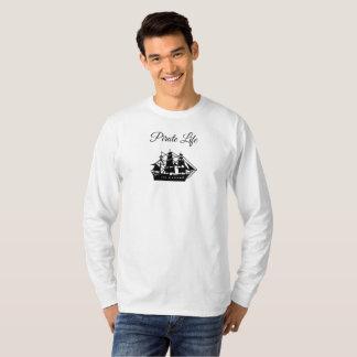 T-shirt Chemise de solide de la vie de pirate