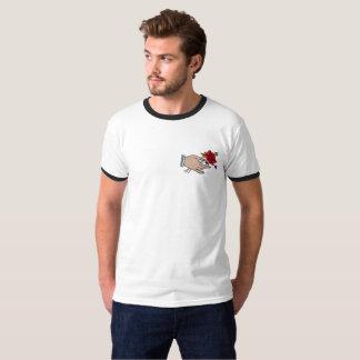 T-shirt Chemise de sonnerie de fleurs de //de main