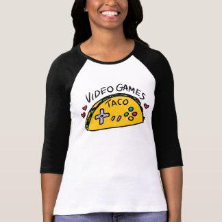 T-shirt Chemise de Sport-Regard de logo de taco de