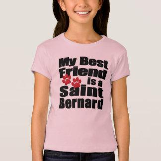 T-shirt Chemise de St Bernard de meilleur ami