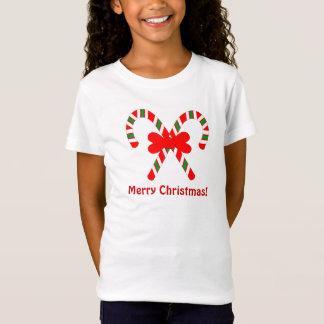 T-Shirt Chemise de sucre de canne de Joyeux Noël