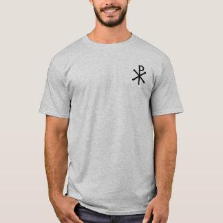 T-shirt Chemise de symbole de Rho de Chi