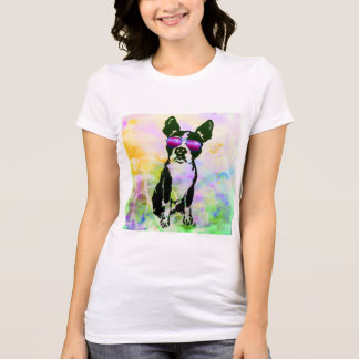 T-shirt Chemise de terrier de Boston