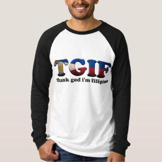 T-shirt Chemise de TGIFilipino