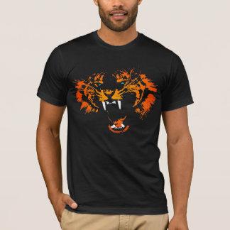 T-shirt Chemise de tigre du feu