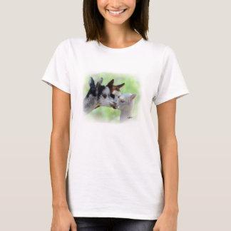 T-shirt Chemise de trois alpaga