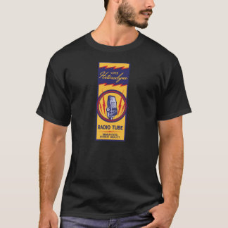 T-shirt Chemise de tube par radio