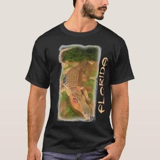 T-shirt Chemise de types d'alligator en métal de la