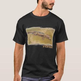 T-shirt Chemise de types de la Floride d'alligator