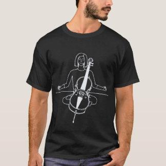 T-shirt Chemise de violoncelliste de zen (pour