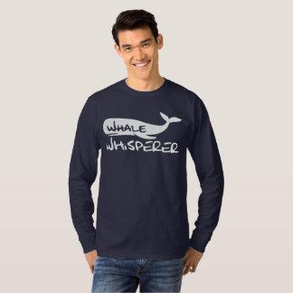 T-shirt Chemise de Whisperer de baleine pour des amants de
