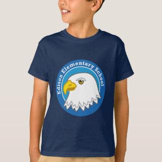 T-shirt Chemise d'Eagle d'enfants (foncée)