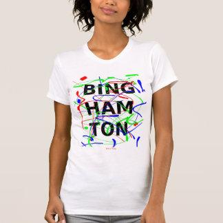T-shirt Chemise d'éclaboussure de Binghamton