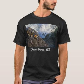 T-shirt Chemise d'éclaboussure d'étoiles de mer