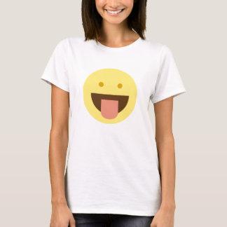 T-shirt Chemise d'Emoji de sourire