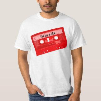 T-shirt chemise d'enregistreur à cassettes du mélange 90s