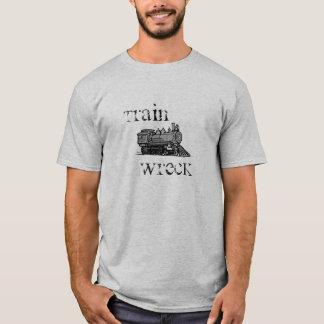 T-shirt Chemise d'épave de train