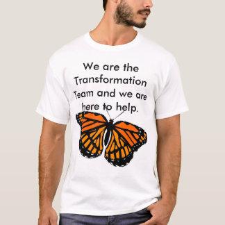 T-shirt Chemise d'équipe de transformation