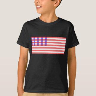 T-shirt Chemise des 1776 Etats-Unis