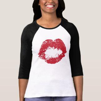 T-shirt Chemise des lèvres de Wendy