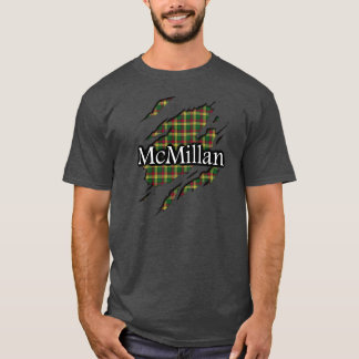 T-shirt Chemise d'esprit de tartan de MacMillan McMillan