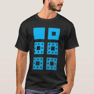 T-shirt Chemise d'expansion de tapis de Sierpinski