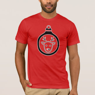 T-shirt Chemise d'icône de renne