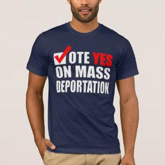 T-shirt Chemise d'immigrants illégaux