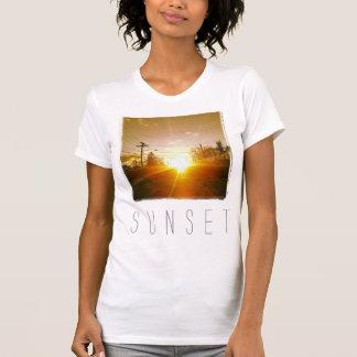 T-shirt Chemise d'Instagram : Coucher du soleil
