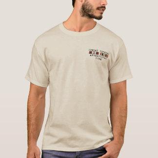 T-shirt Chemise d'OEF OIF avec l'avant de ruban