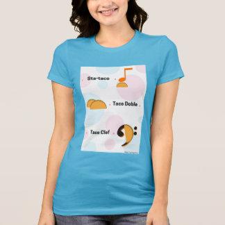 T-shirt Chemise drôle de calembour de taco de musique :