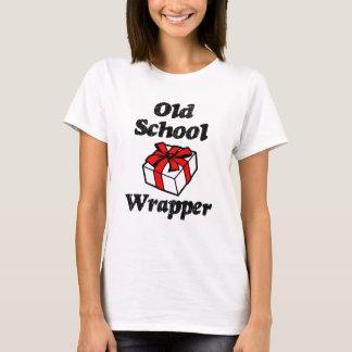 T-shirt Chemise drôle de Noël d'emballage de vieille école