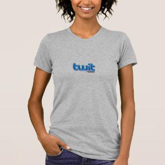 T-shirt Chemise du crétin des femmes