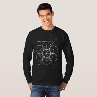 T-shirt Chemise du cube de Metatron sacré artistique de la