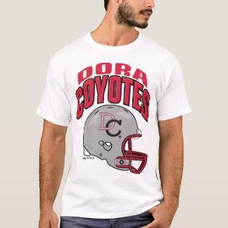T-shirt Chemise du football de coyotes de Dora