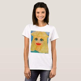 T-shirt Chemise du hibou de la femme