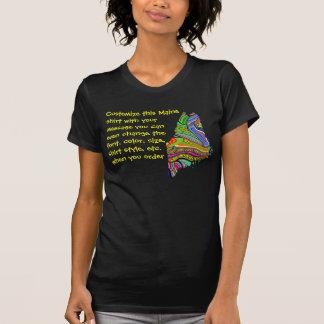 T-shirt Chemise du Maine - customisez avec l'élection ou