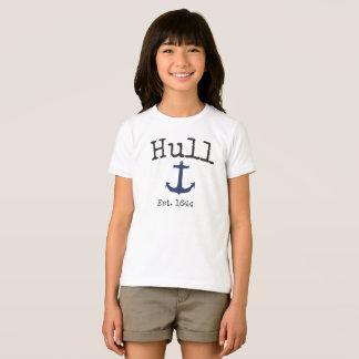 T-shirt Chemise du Massachusetts de coque pour des filles