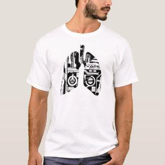 T-shirt Chemise du poumon de Vaper