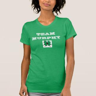 T-shirt Chemise du shamrock 5K de Murphy d'équipe