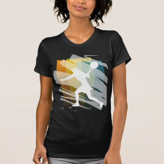 T-shirt Chemise du tennis des femmes