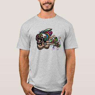 T-shirt Chemise d'ukulélé de Mardis Gras